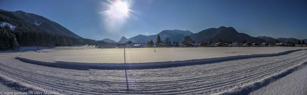Panorama Schneeschuhwanderung 2