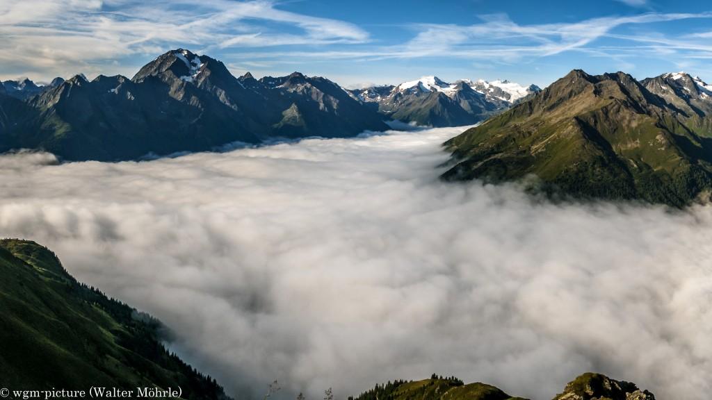 Panorama Stubaier Höhenweg - Ausschnitt