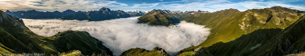 Panorama Stubaier Höhenweg