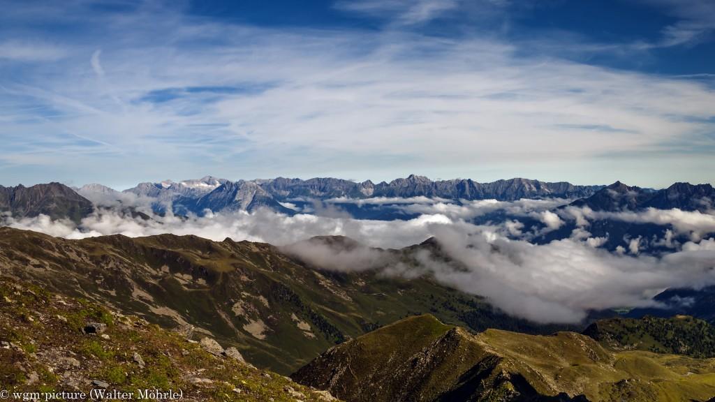 Panorama Stubaier Höhenweg 2 - Ausschnitt