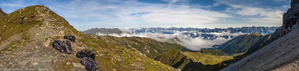 Panorama Stubaier Höhenweg 2
