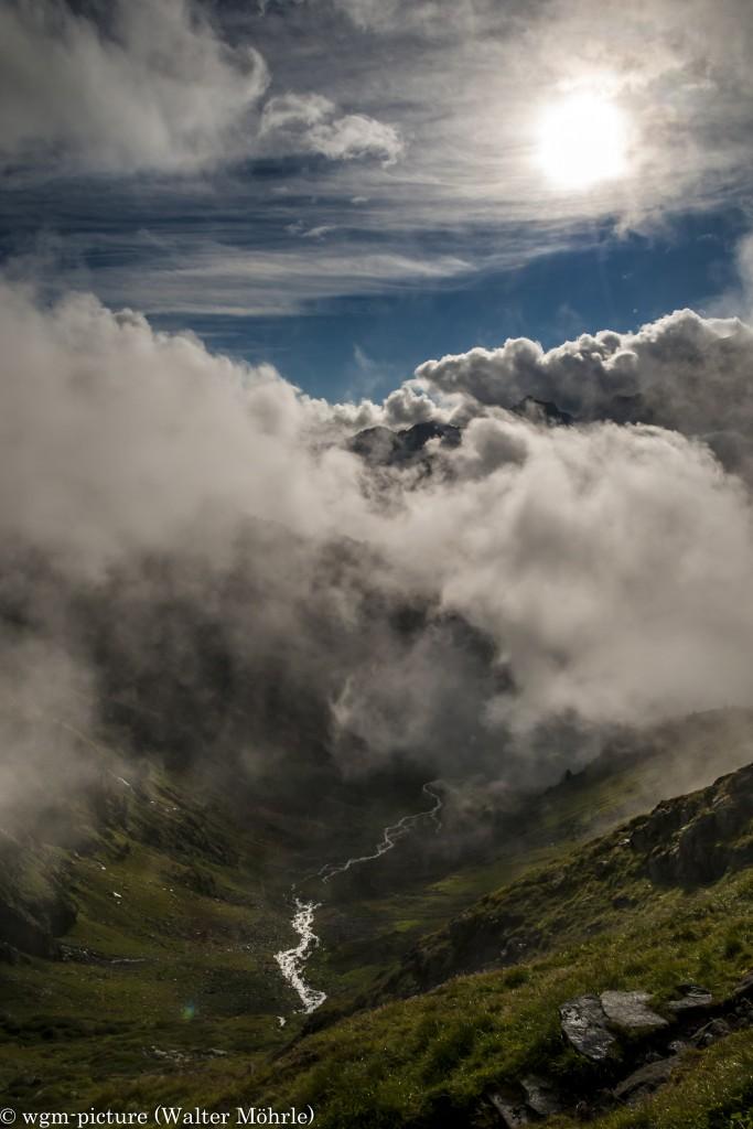 Die Wolken ziehen auf