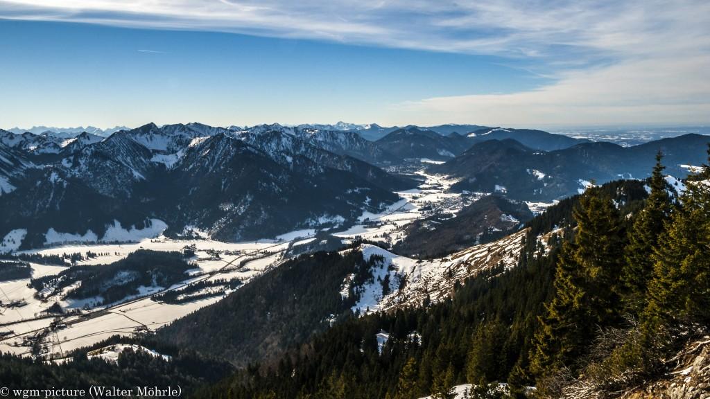 Blick in die Bayerische Voralpen 2