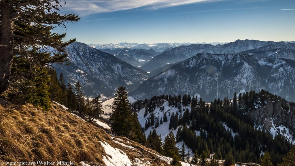 Blick in die Bayerische Voralpen 1