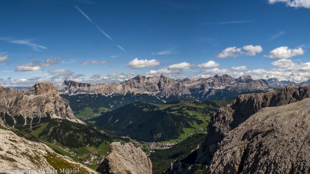 Pisciadù-Panorama - Ausschnitt