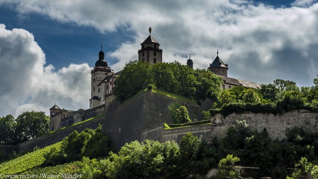 Blick zur Festung Marienberg