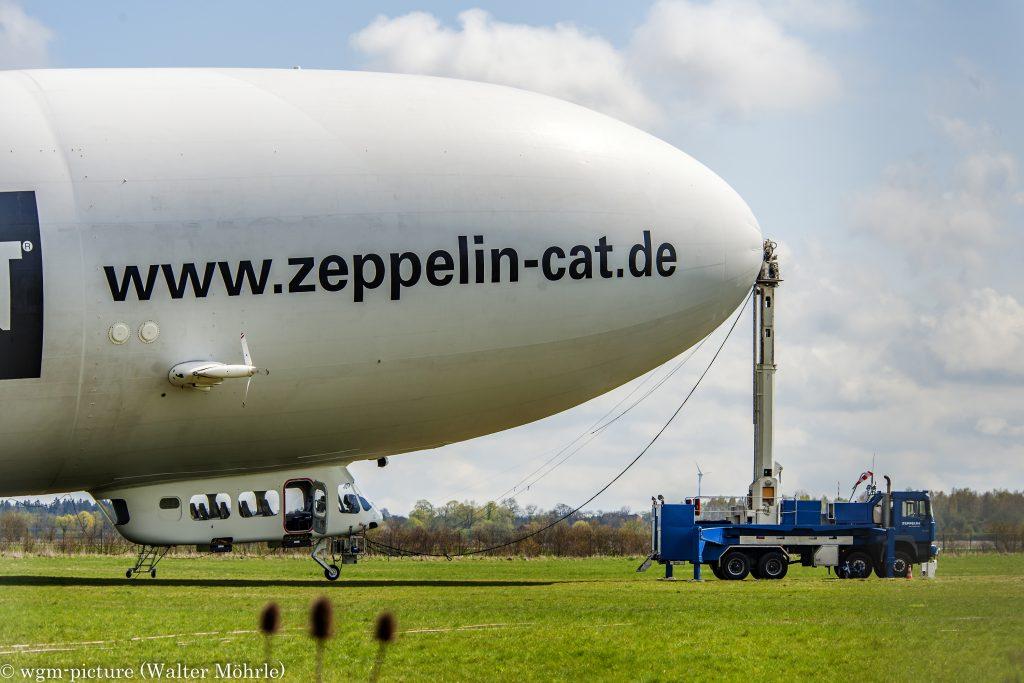 Zeppelin LZ N07-100 (D-LZZF) der Deutsche Zeppelin Reederei Deutsches Museum / Flugwerft Schleißheim