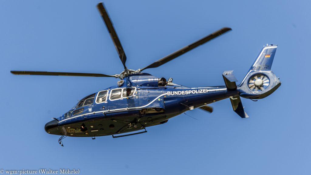 Eurocopter EC-155 B Dauphin (D-HLTP) der Bundespolizei