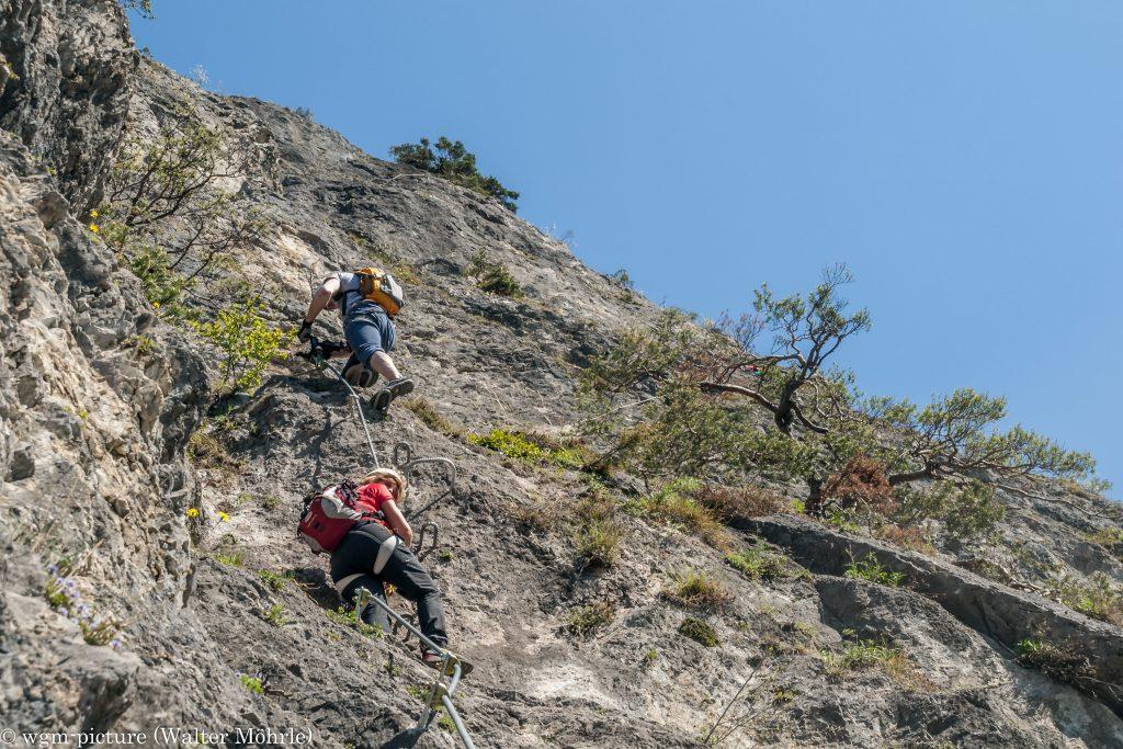 Kletterimpressionen aus der Geierwand