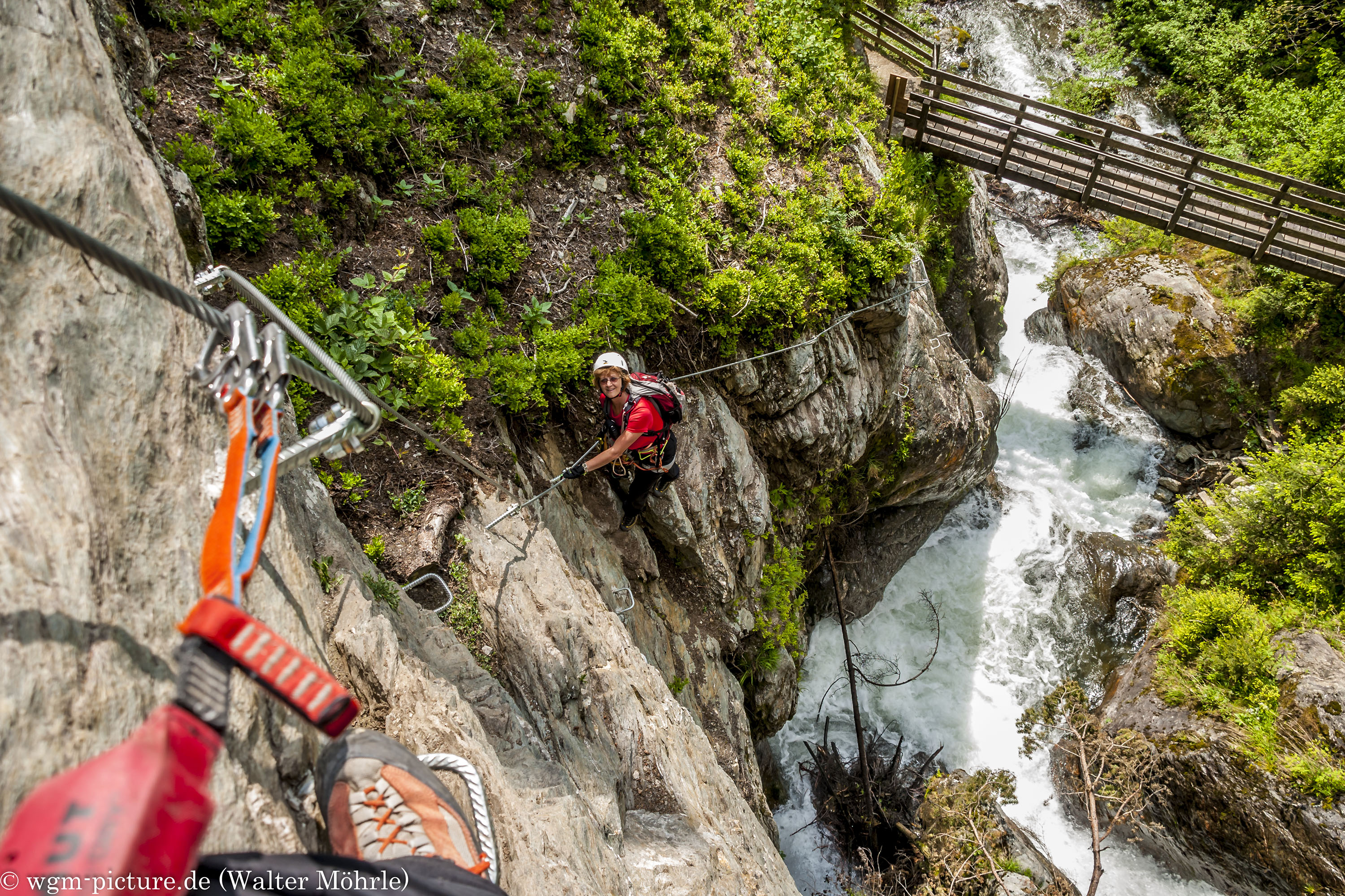 Klettersteigset Funktionsweise : Zillertal wgm picture
