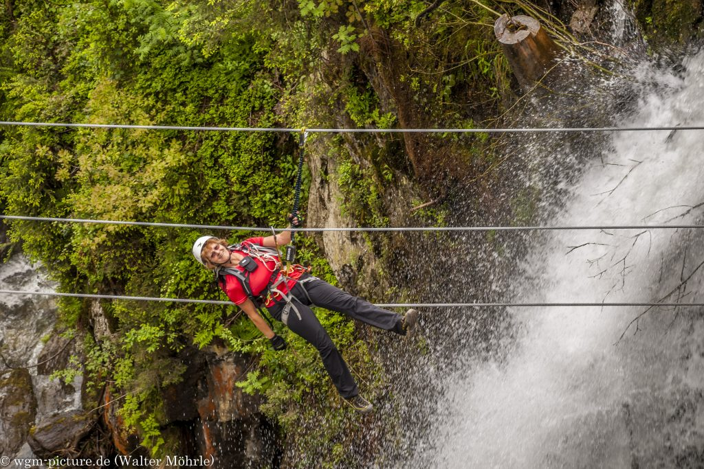 35 m Brückenspaß am Fallbach Wasserfall