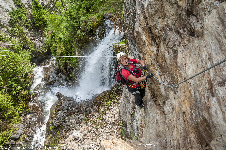 Klettersteig Fallbach : Talbach klettersteig wgm picture
