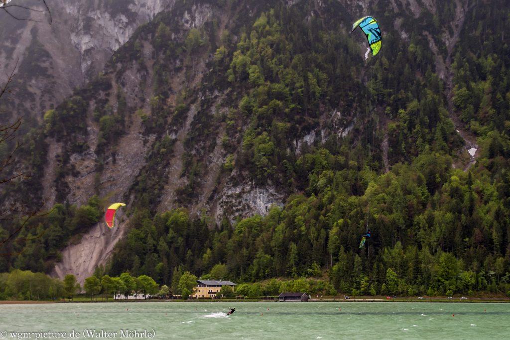 Kitesurfen am Achensee