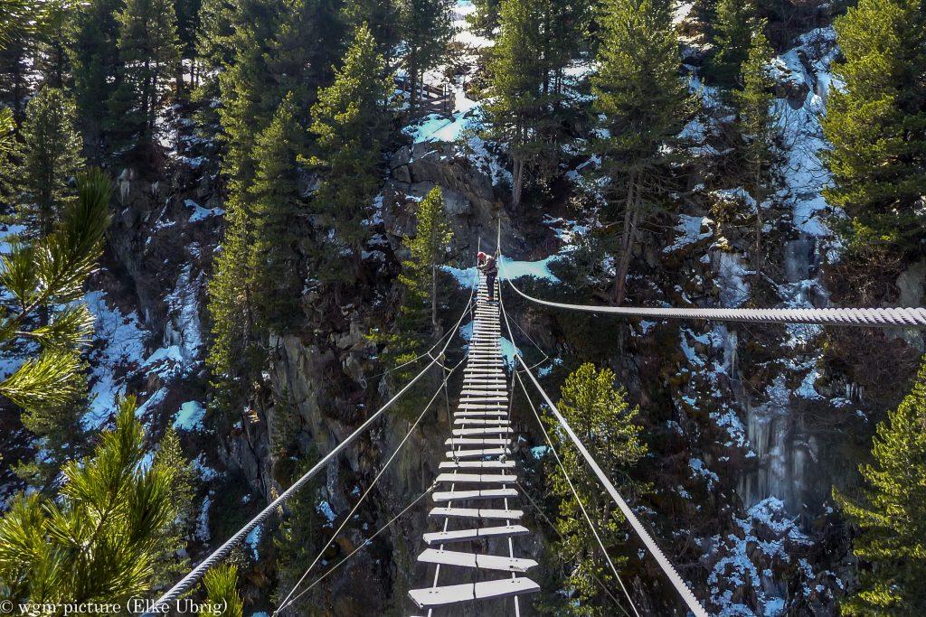 Im Obergurgler Klettersteig