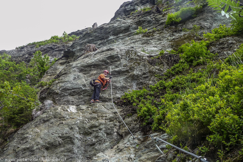 Klettersteig Talbach : Talbach klettersteig wgm picture
