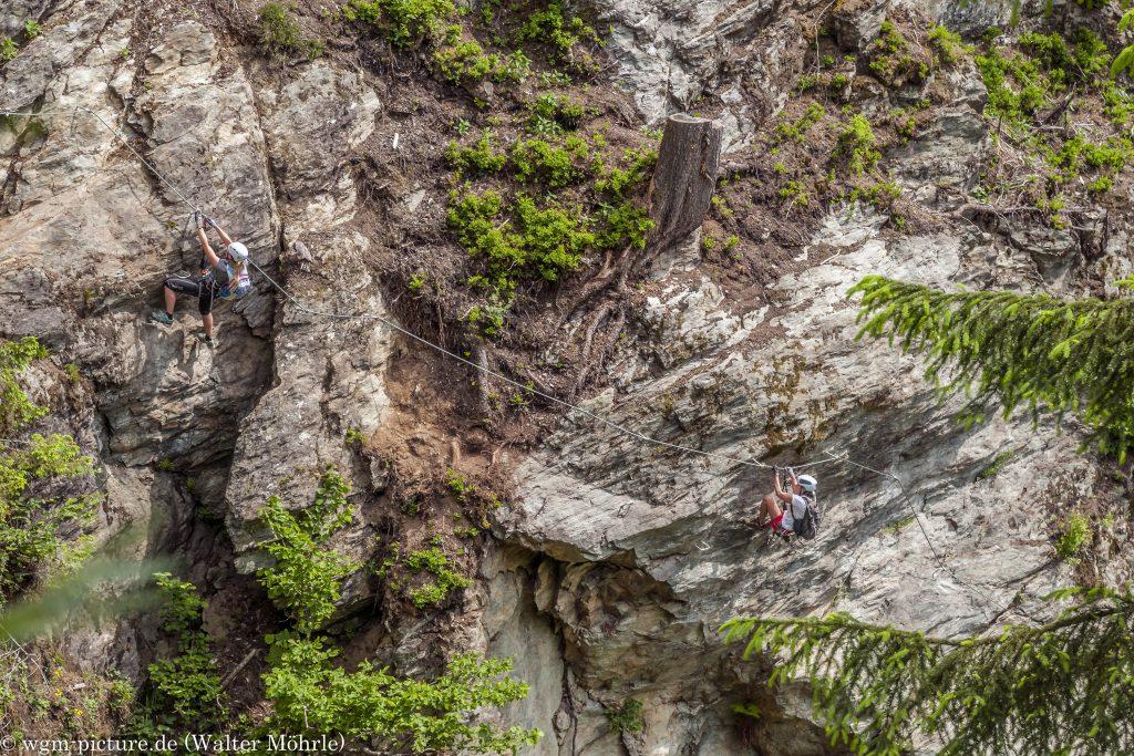 Talbach Klettersteig 3