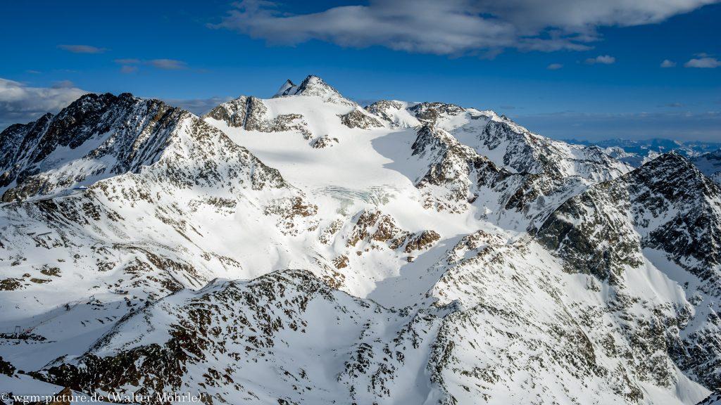 Blick vom Stubaier Gletscher
