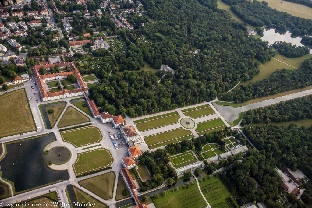 Schloss Nymphenburg - Luftaufnahme