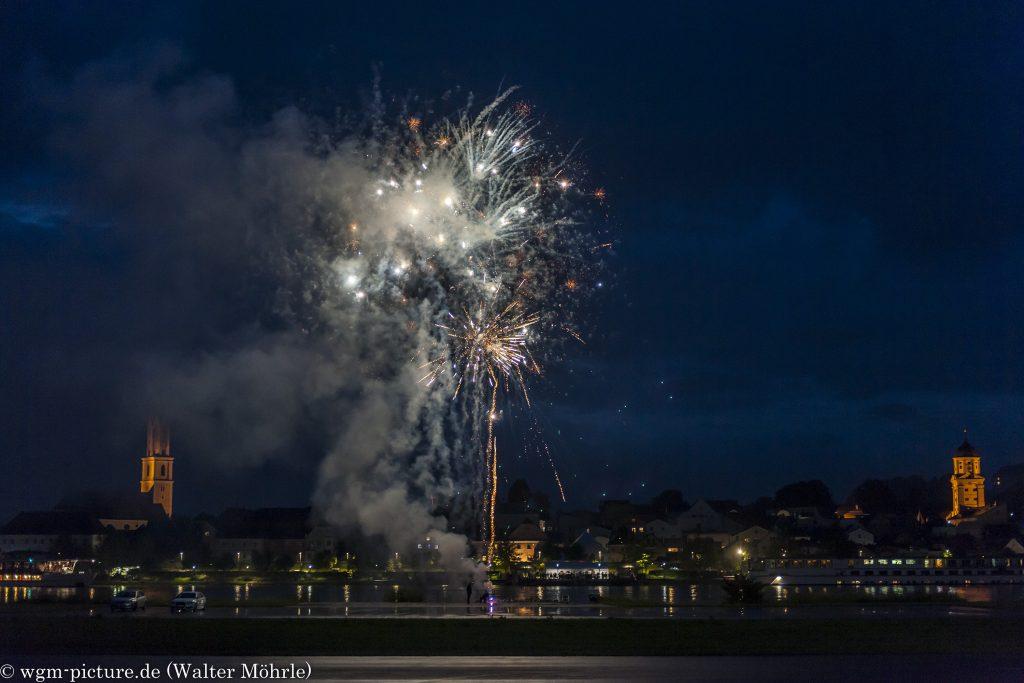 Feuerwerk zum 80sten