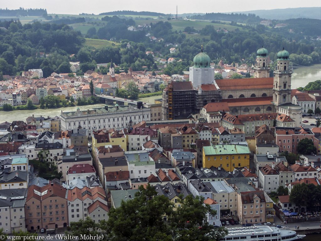 Passau von oben
