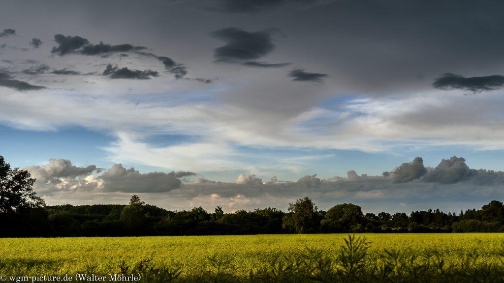 Wetter- und Wolkenpanorama - Ausschnitt