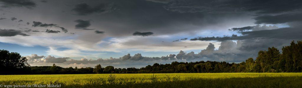 Wetter- und Wolkenpanorama