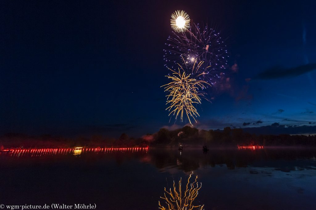 Feuerwerk am Karlsfelder See 1
