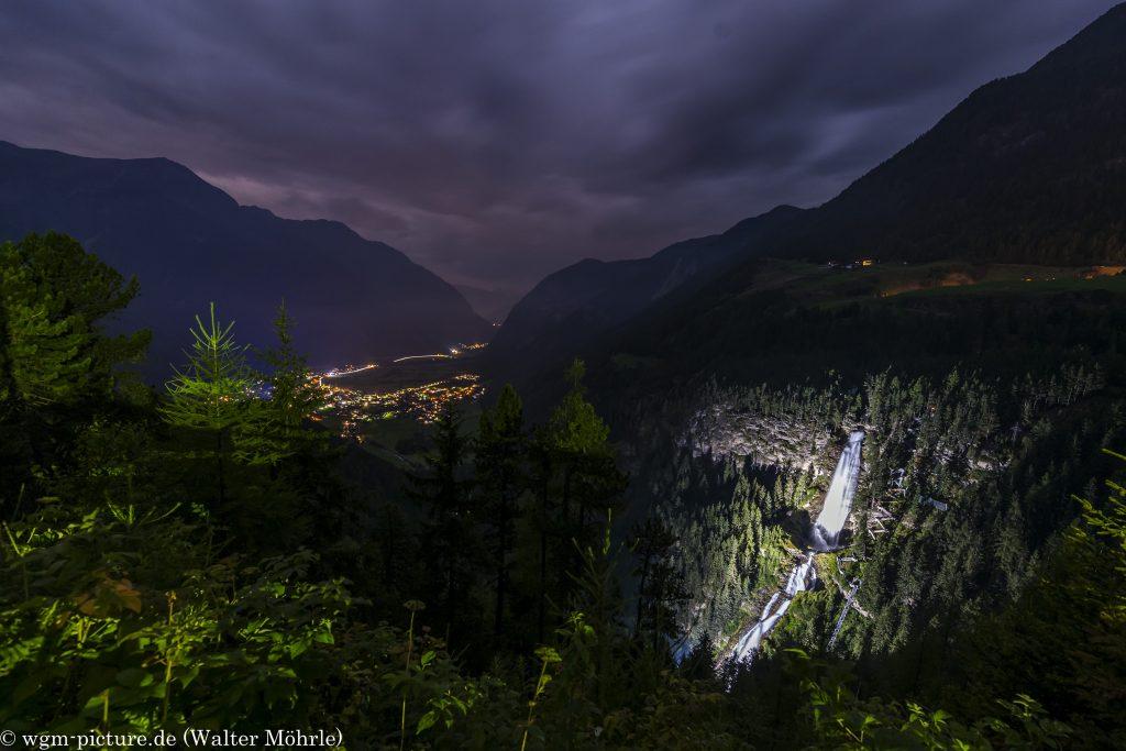 Stuibenfall-Klettersteig - Nachtbegehung