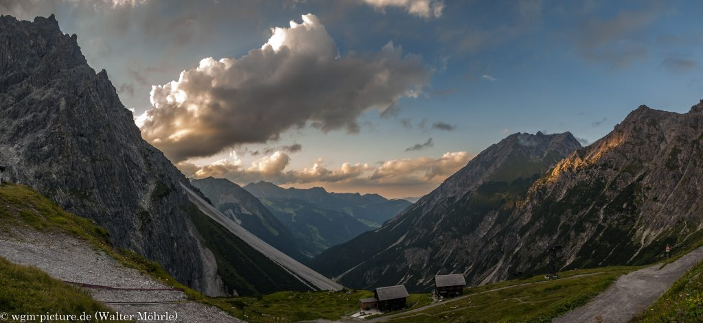 Eindrücke vom Lünersee - Panorama
