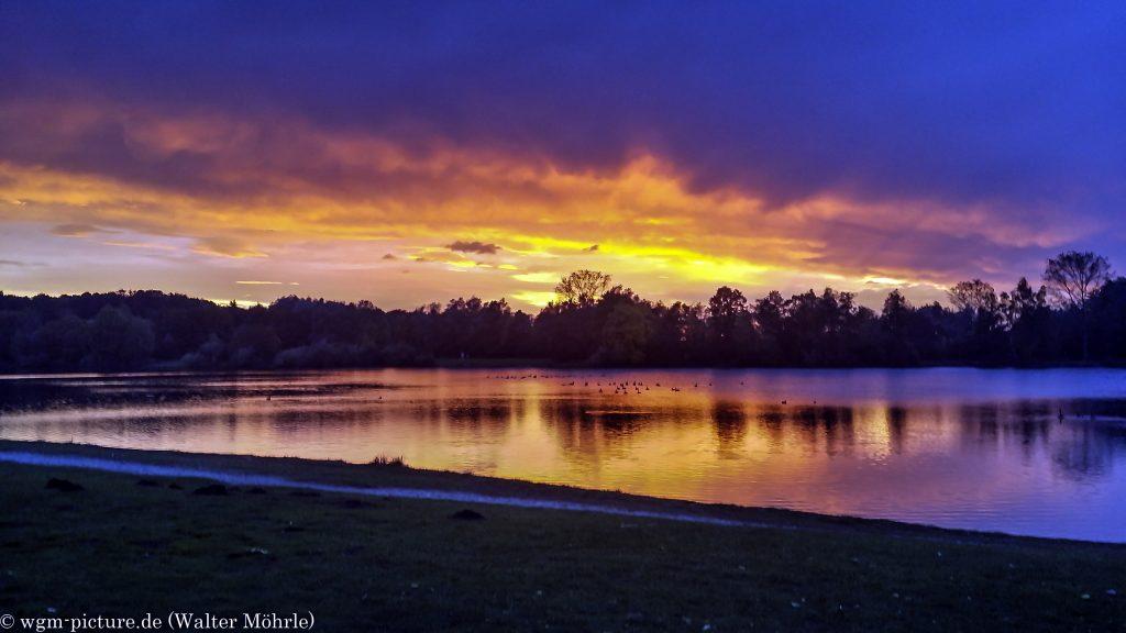 Abendstimmungen am Karlsfelder See