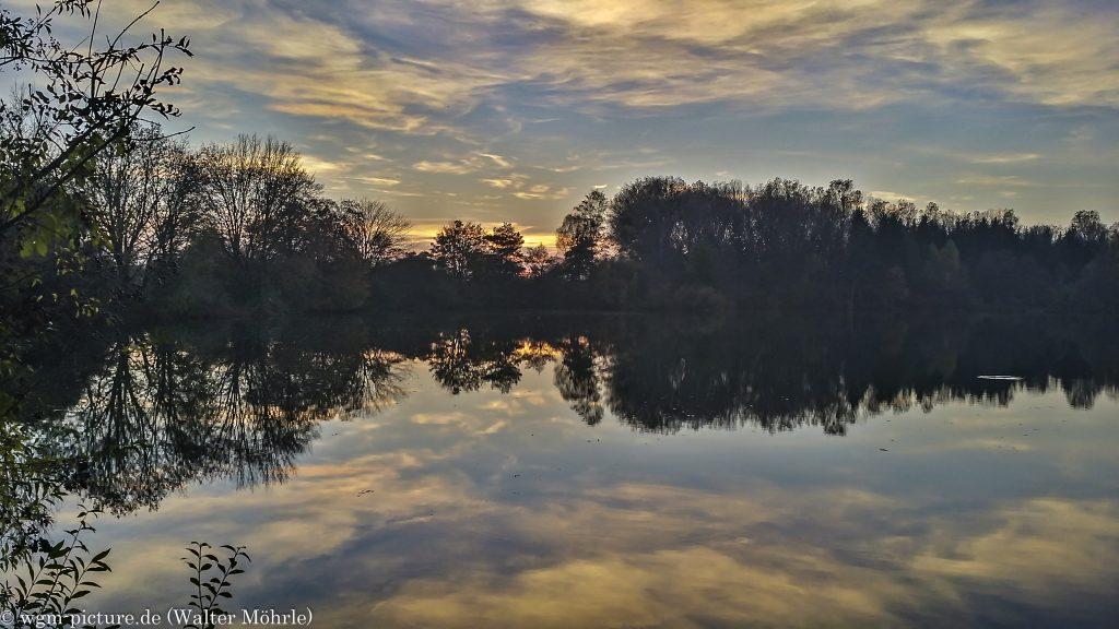 Sonnenuntergang im Schwarzhölzl
